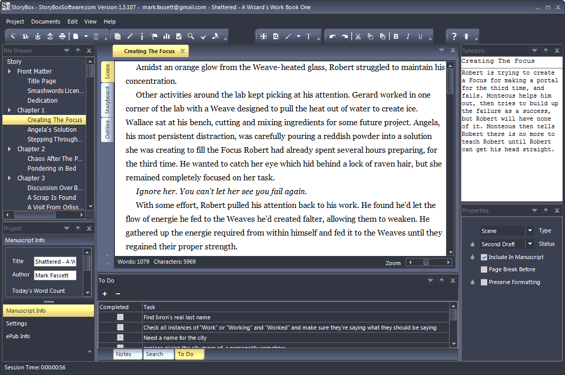 Essay writing software